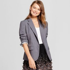 Gray twill blazer | NWT | great item for fall!